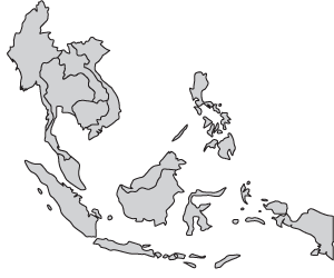 Asien Map