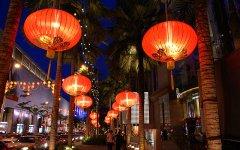 Chinatown bei Nacht